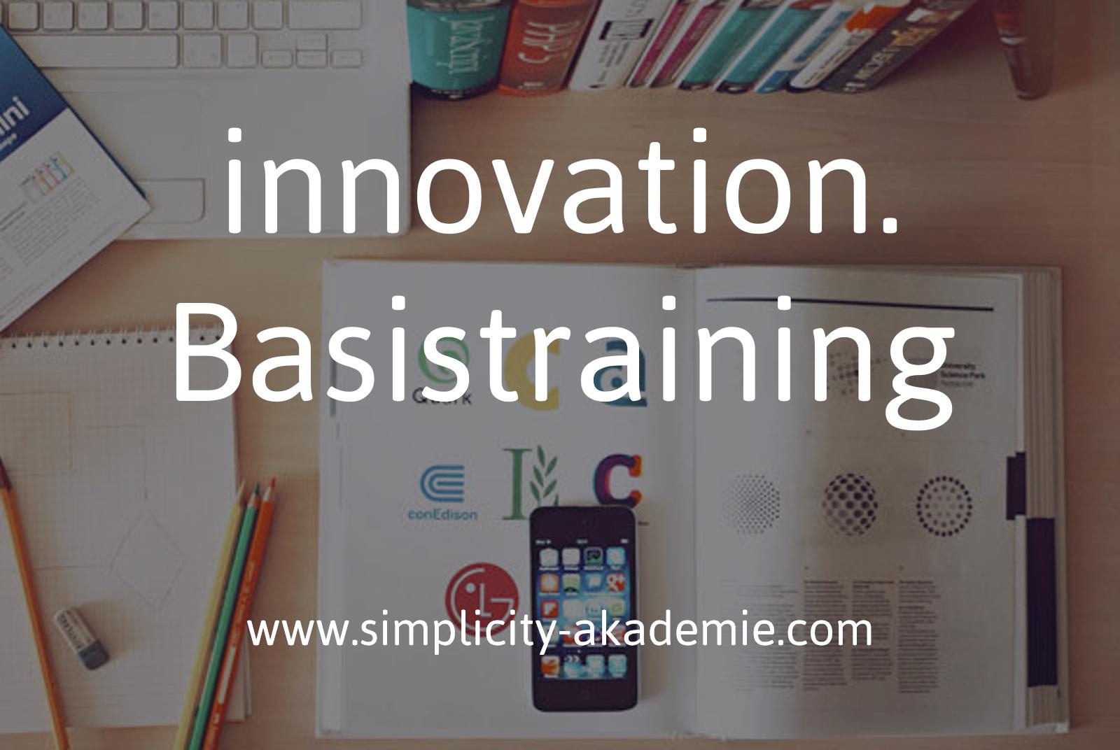 Mehrwert durch Einfachheit - simplicity.basistraining