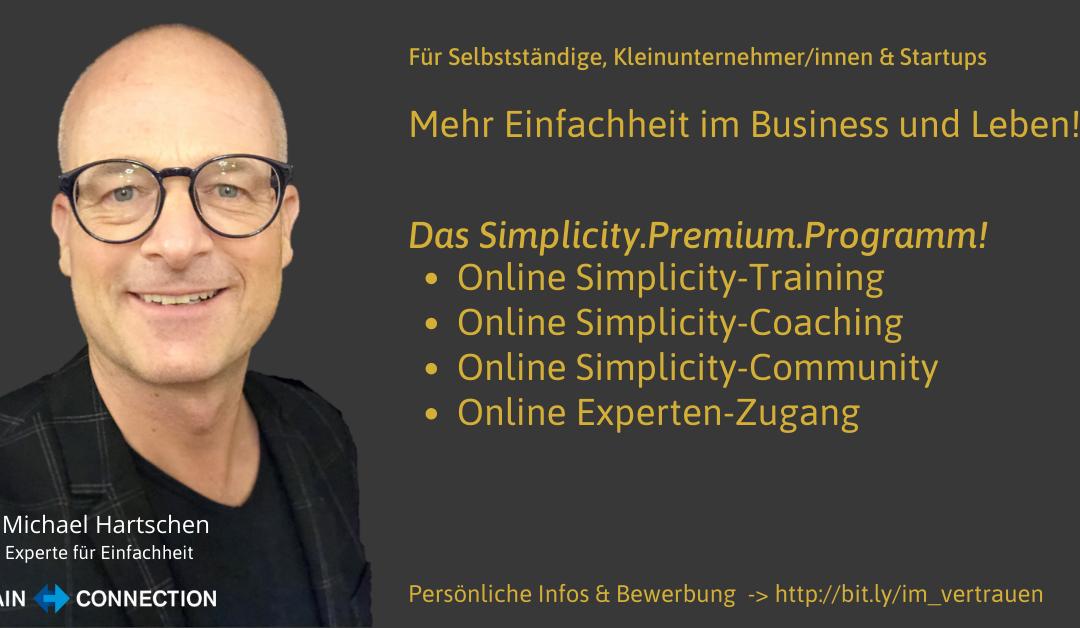 Das Simplicity Premium Programm